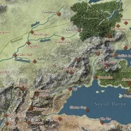 Interactive Game of Thrones Map with Spoilers Control | Game of ...