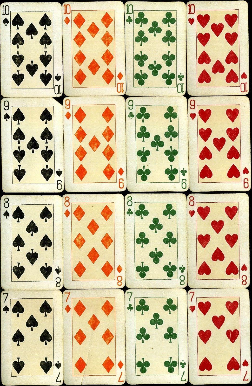 Dondorf Saks 909 Ultra Rare Playing Cards Dondorf Saks 909
