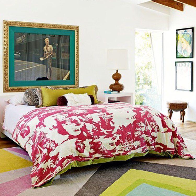 Fun master bedroom #bed #bedroom #interiordesignideas #interiordesign #interiordecorating #homedecor #homedesign #decor #design #details #strongsvilledesigner by colleenprimm http://discoverdmci.com
