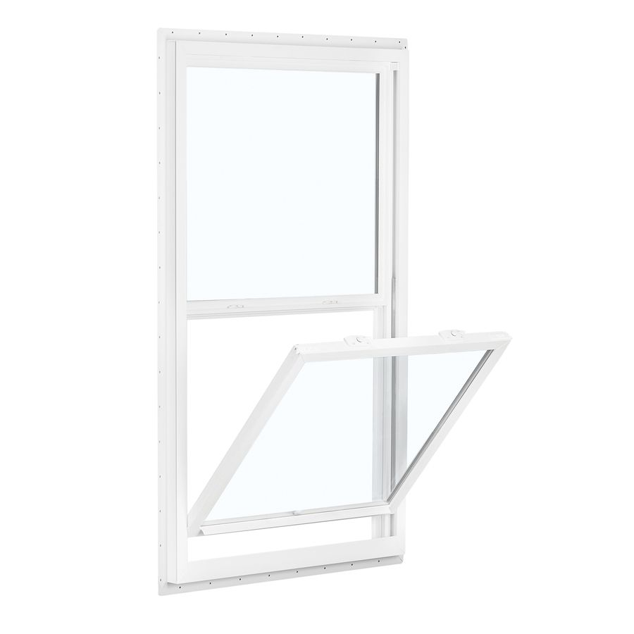 Reliabilt 150 Series 35 5 In X 71 5 In Vinyl Egress New Construction White Single Hung Window Lowes Com Single Hung Windows New Construction Window Fitting