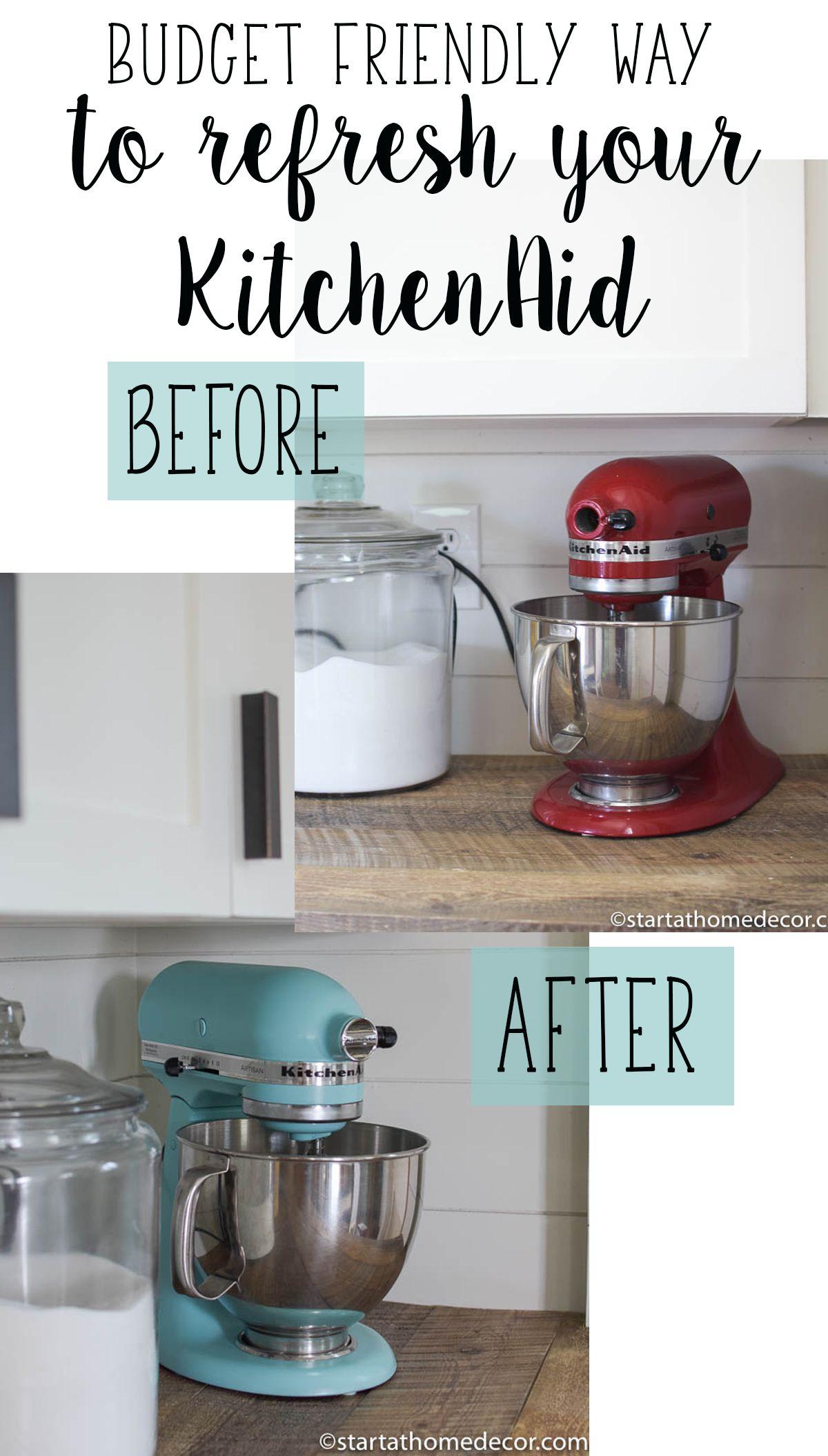 Budget friendly way to refresh your kitchenaid diy farm house