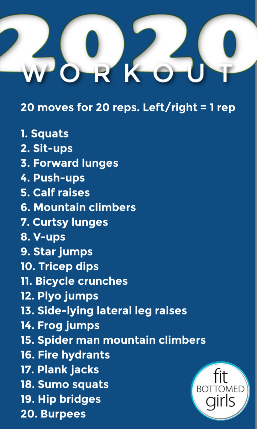 2020 Workout - Fit Bottomed Girls