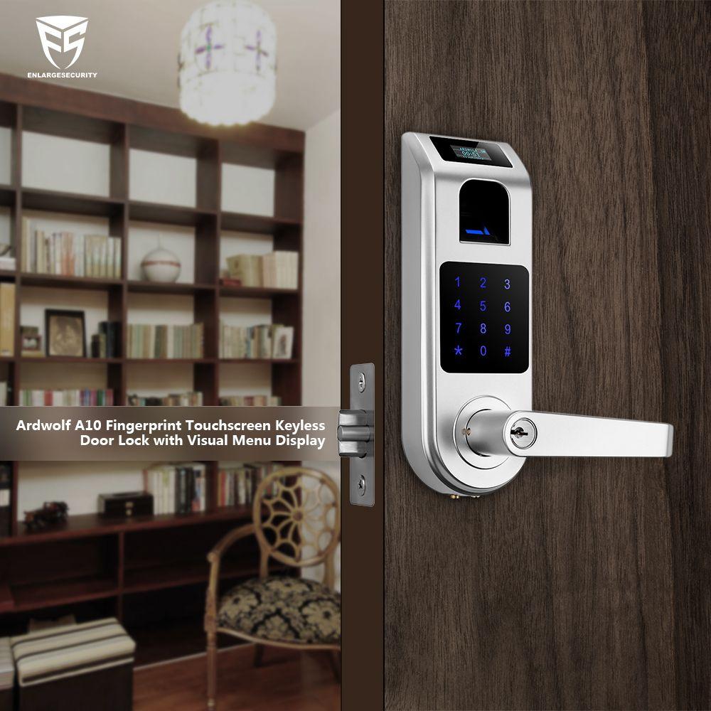 Use A Keyless Smart Door Lock To Restrict Access To Your Study Keyless Door Lock Smart Door Locks Keyless Entry Door Locks