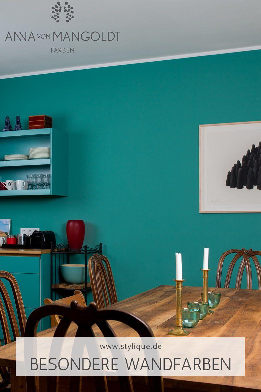Esszimmer Wandfarbe Turkis By Anna Von Mangoldt In 2020 Haus Deko Anna Von Mangoldt Wandfarbe Turkis