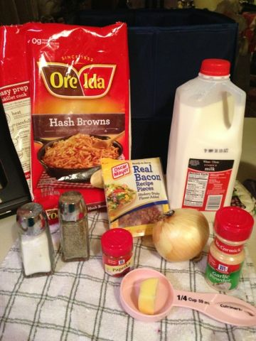 Cooking, Crafts, & Courtney: Hash Brown Breakfast Cassarole