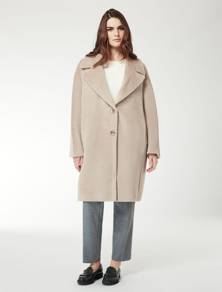 Marina Rinaldi TENNIS colonial: Brushed alpaca-wool coat. | Coats ...