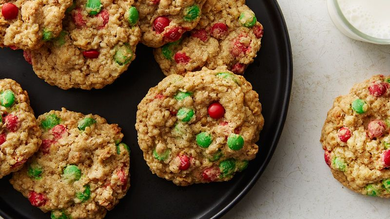Easy Holiday Oatmeal Cookies Recipe Oatmeal, Holidays and