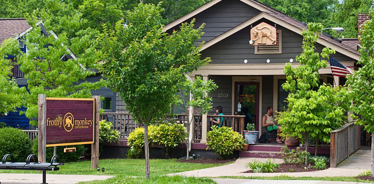 Frothy Monkey Nashville, TN coffeehouse an addictive