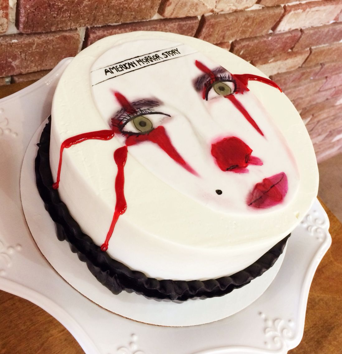 American Horror Story With Images Horror Cake Cake Creations