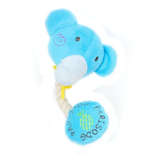 Petseeker Squeak Pet Toys Plush Cat and Dog Interactive Toy Elephant Shape *** Check out this great product. (Note:Amazon affiliate link)