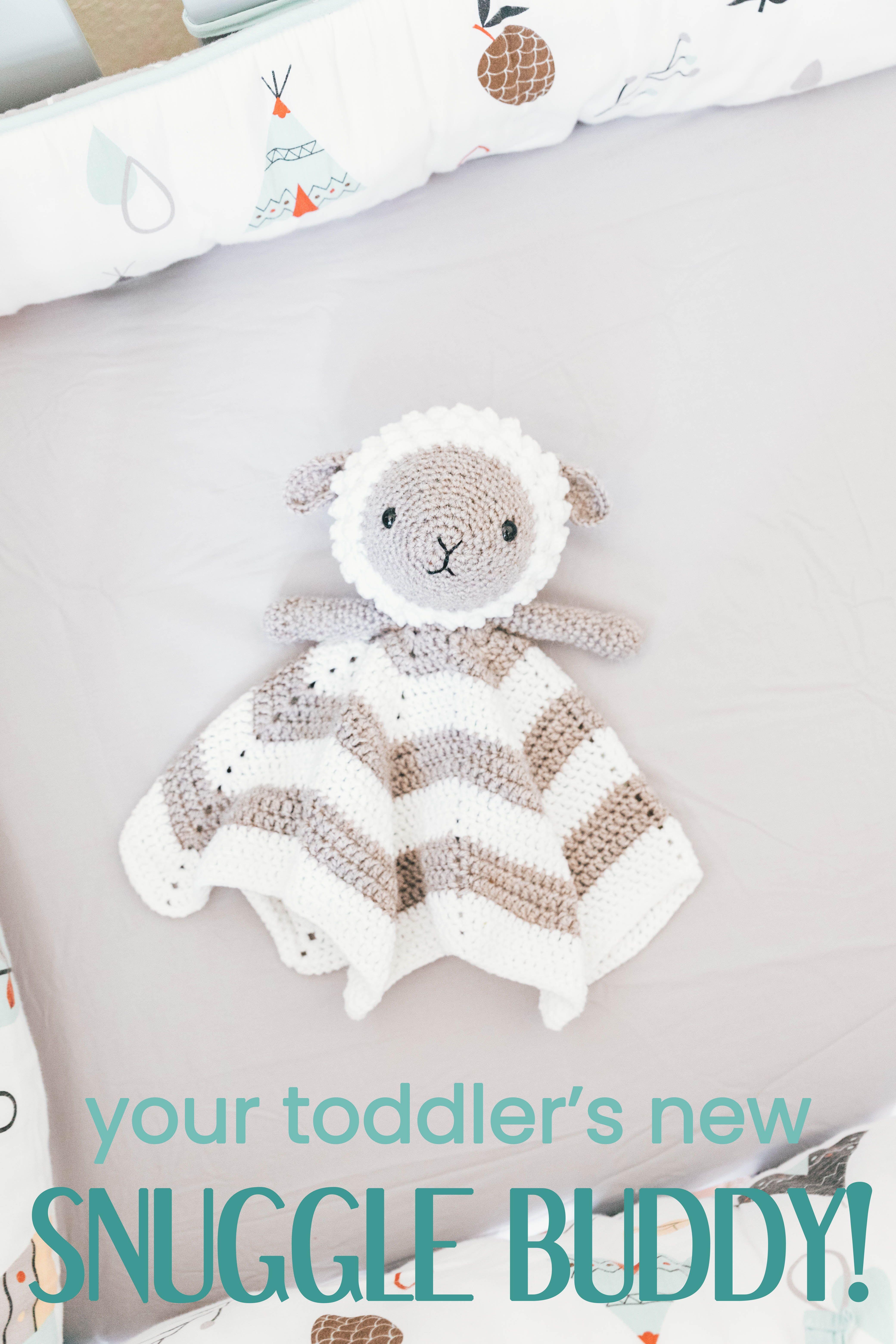 Crochet Little Lamb Lovey | Pinterest
