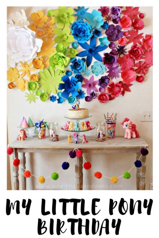 A My Little Pony Birthday   Rainbow Dash Birthday   One Thousand Oaks