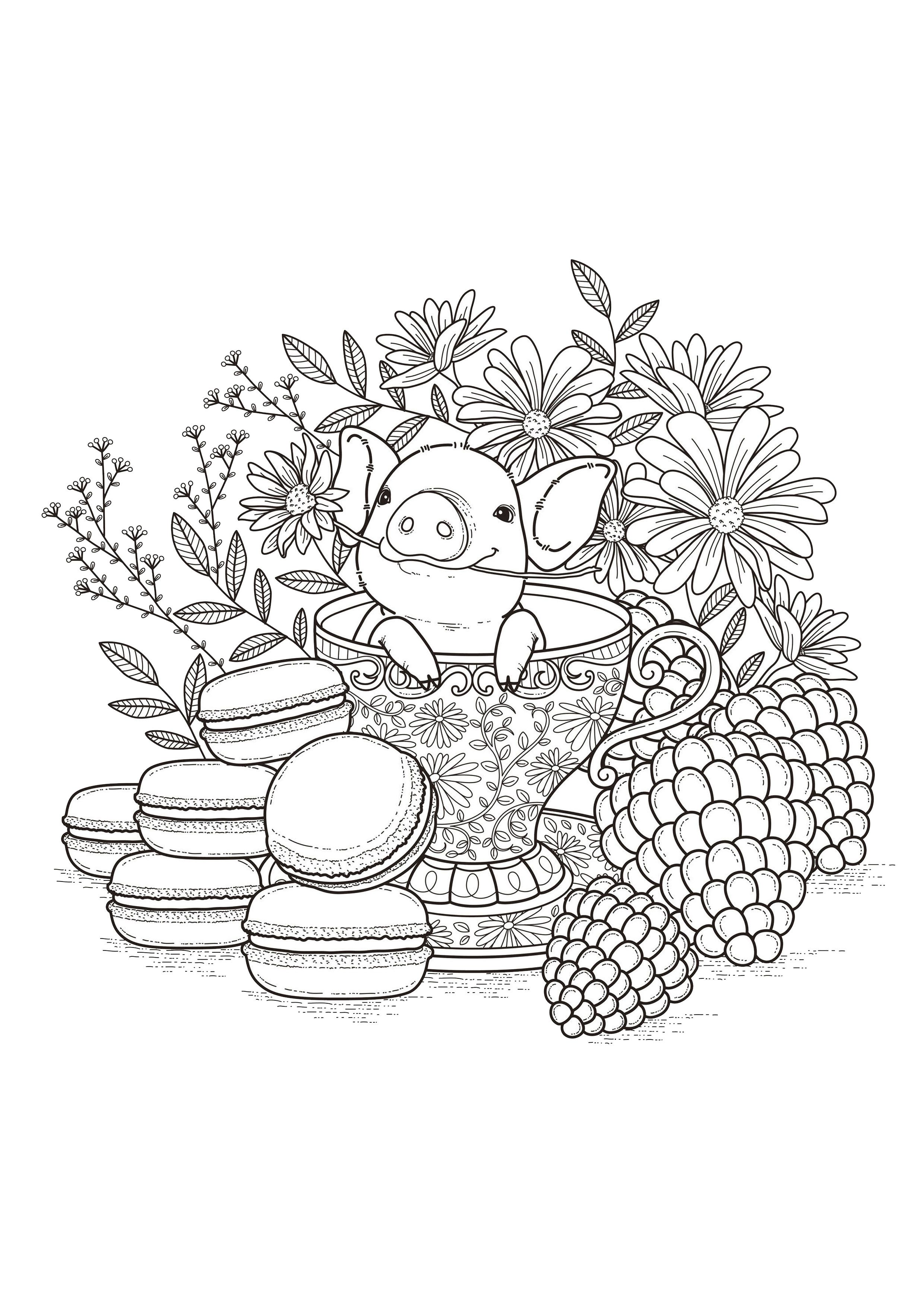 more macaroons or fruits from the gallery flowers and