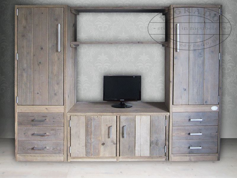 steigerhouten tv kast | Pallet | Pinterest | Pallets, Room ideas ...