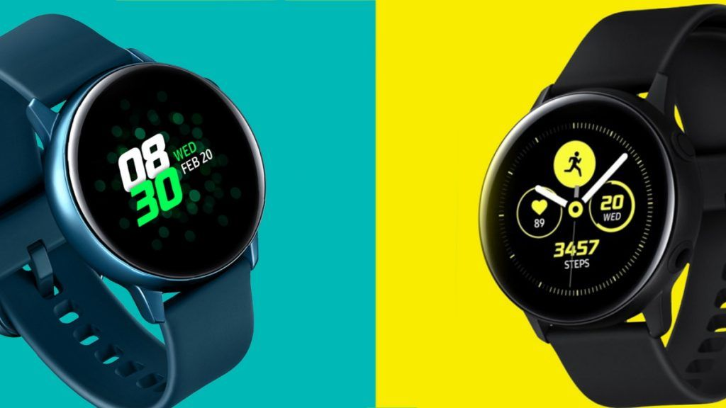 Samsung Galaxy Watch Active gets a new set of software