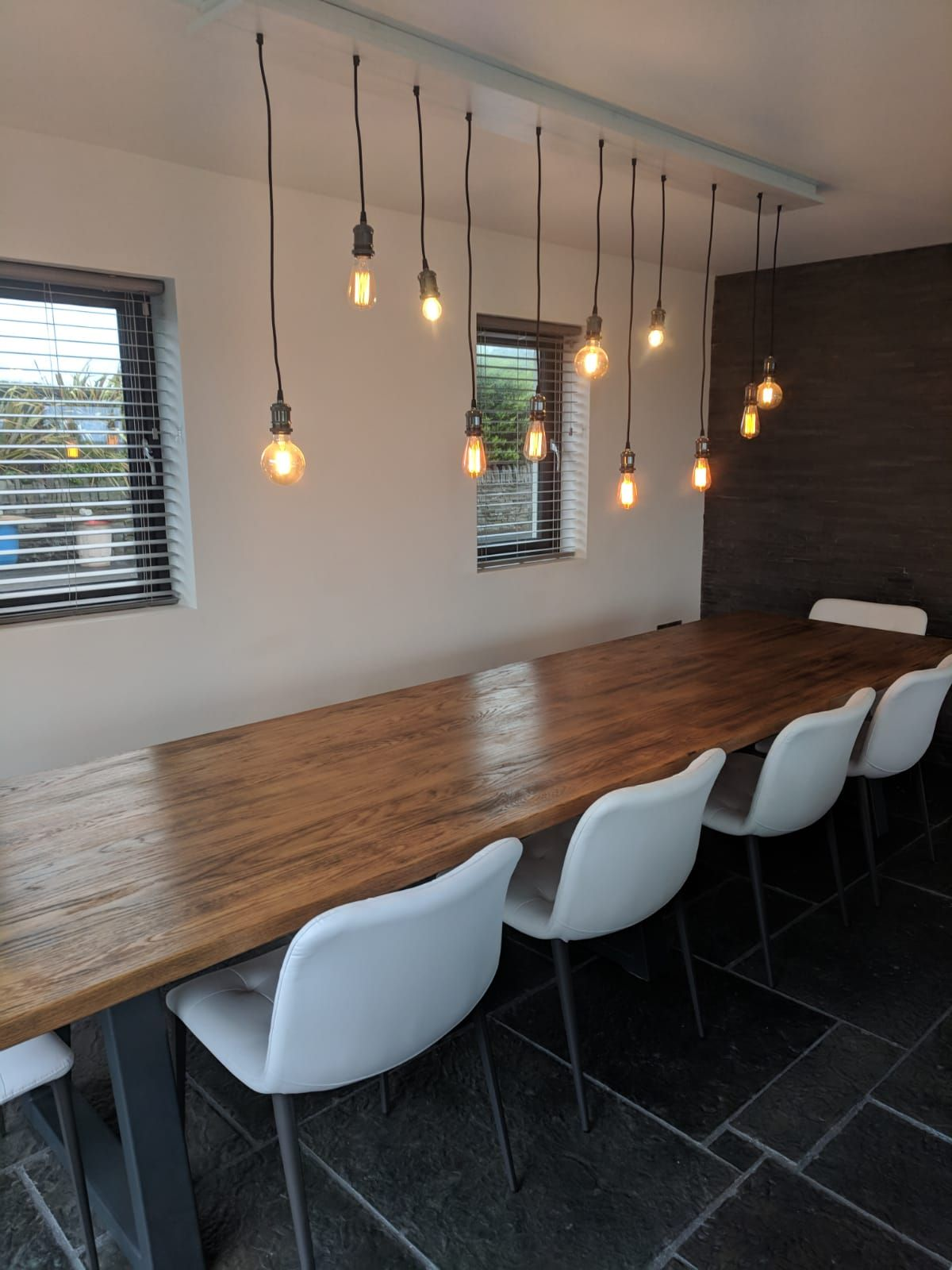 into the west rustic furniture it was into the west and beautiful lahinch where we delivered one of our longest tables to date 13ft comfortably seating 10 persons