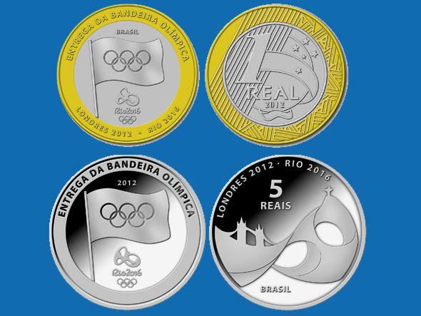 Bc Vai Lancar Moeda Comemorativa Com Tema Olimpico Com Imagens