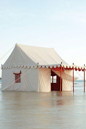 Ultimate seaside glamping...Altair Tent // Anthropologie.eu