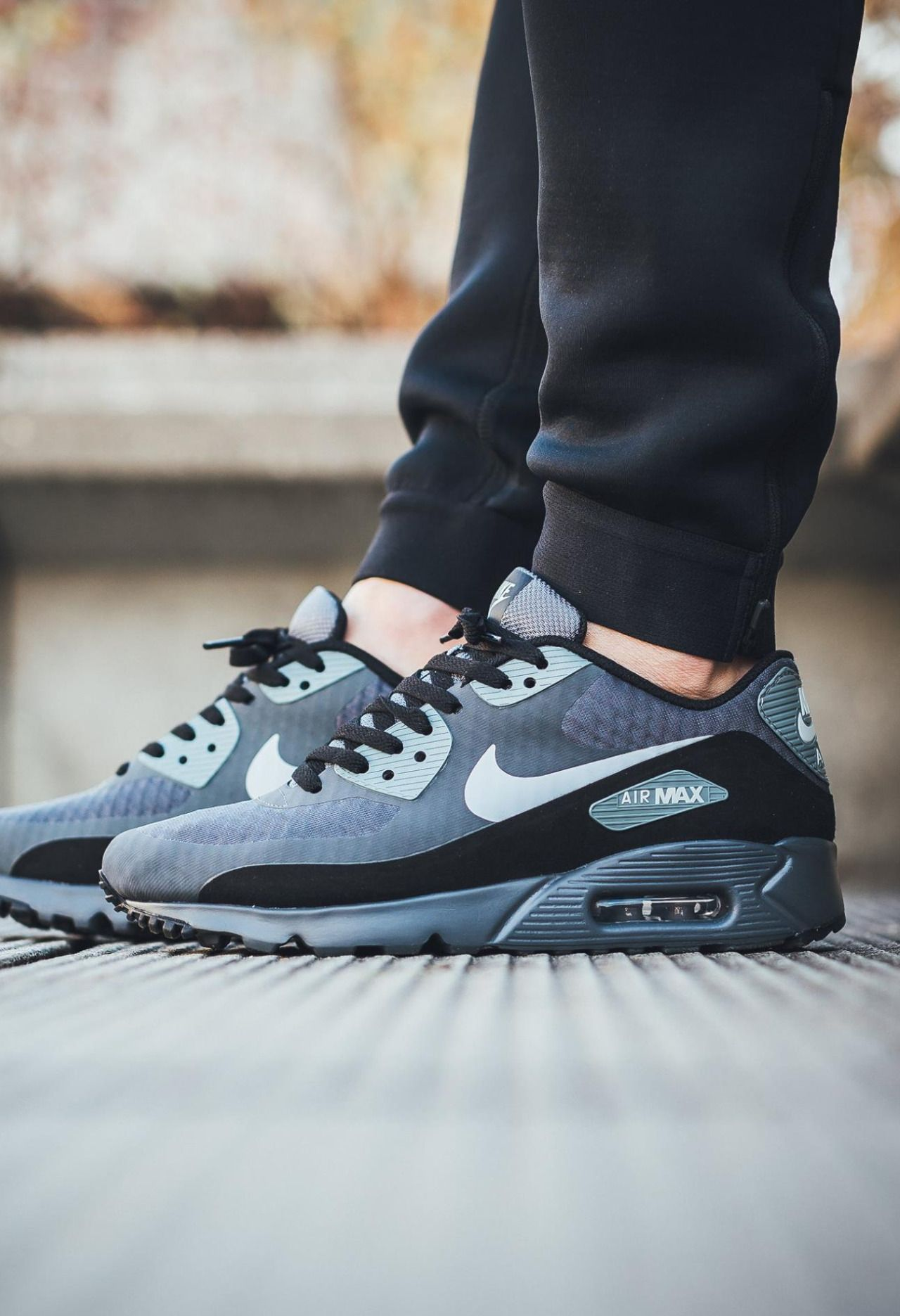 Nike Air Max 90 Ultra Essential 'Dark GreyWolf Grey' | Nike
