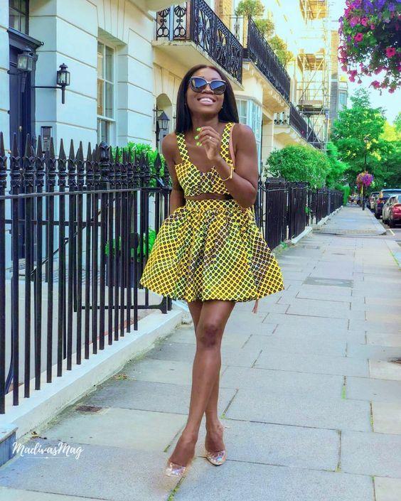 Gorgeous African Ankara Styles #kitengedesigns