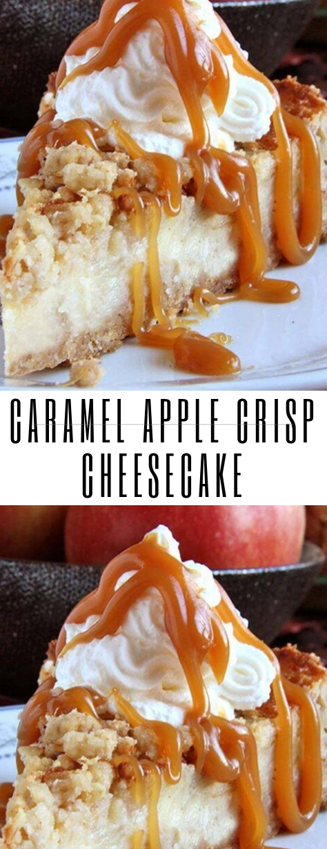 Caramel Apple Crisp Cheesecake #Caramel #Apple #Crisp #Cheesecake #caramelapplecheesecake Caramel Apple Crisp Cheesecake #Caramel #Apple #Crisp #Cheesecake