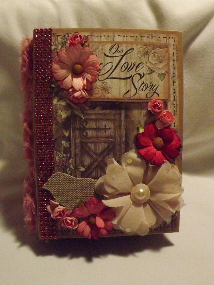 Tphh Terri Our Love Story Heartfelt Creations Premade Scrapbook