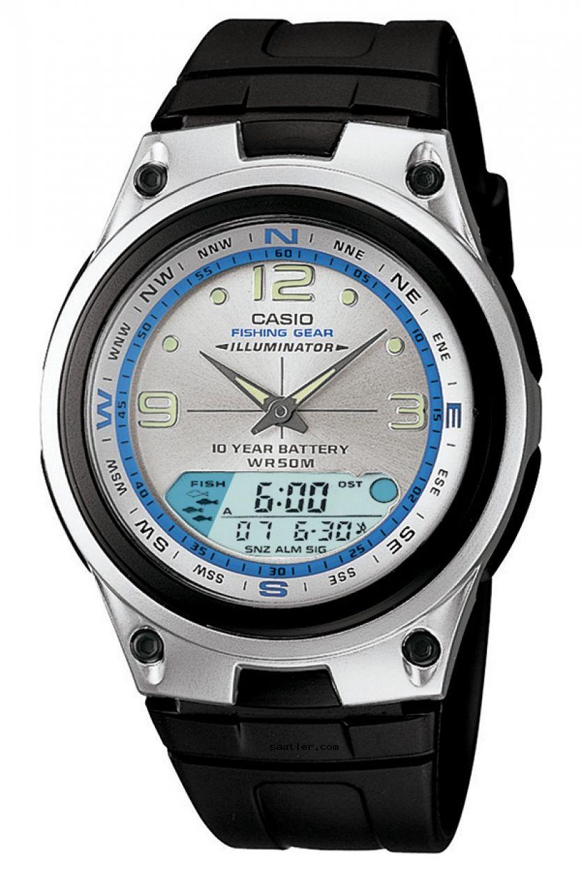Casio Fishing Gear Aw 82 7avdf Erkek Kol Saati Mit Bildern Uhren Herren Casio Uhr Armbanduhr