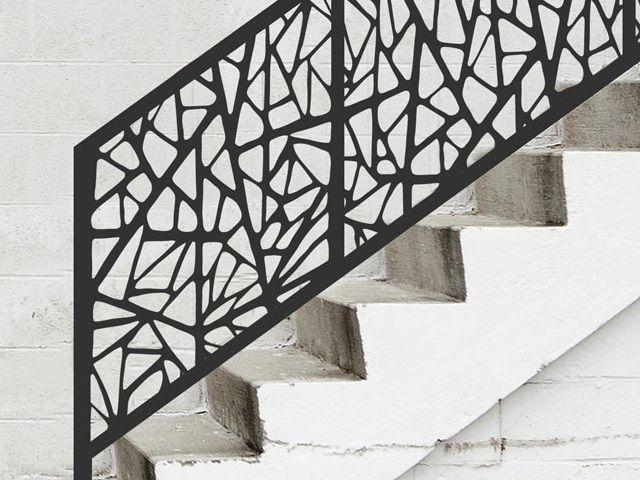 Célèbre TÔLE DÉCORATIVE - DÉCOUPE LASER TYPE ATLANTIDE | railing design  UZ91