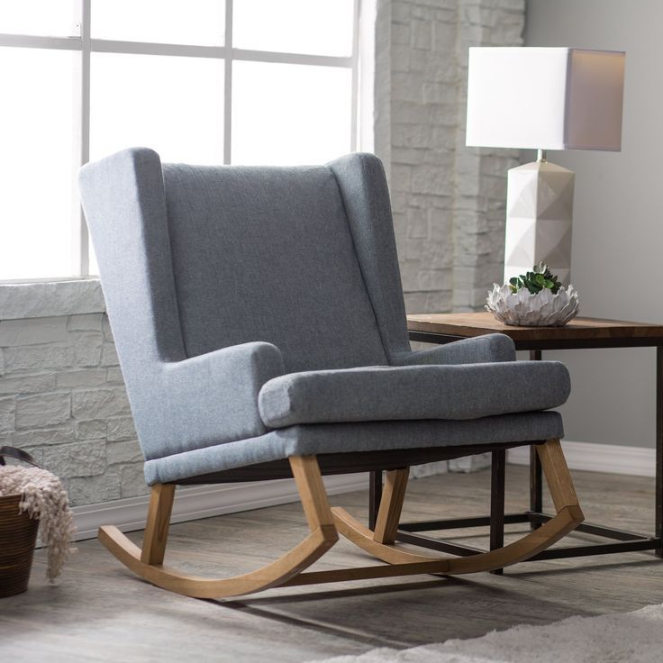 Belham living wool herringbone rocking chair some rockers are designed for nurseries while others are best suited for reading rooms but the belham living
