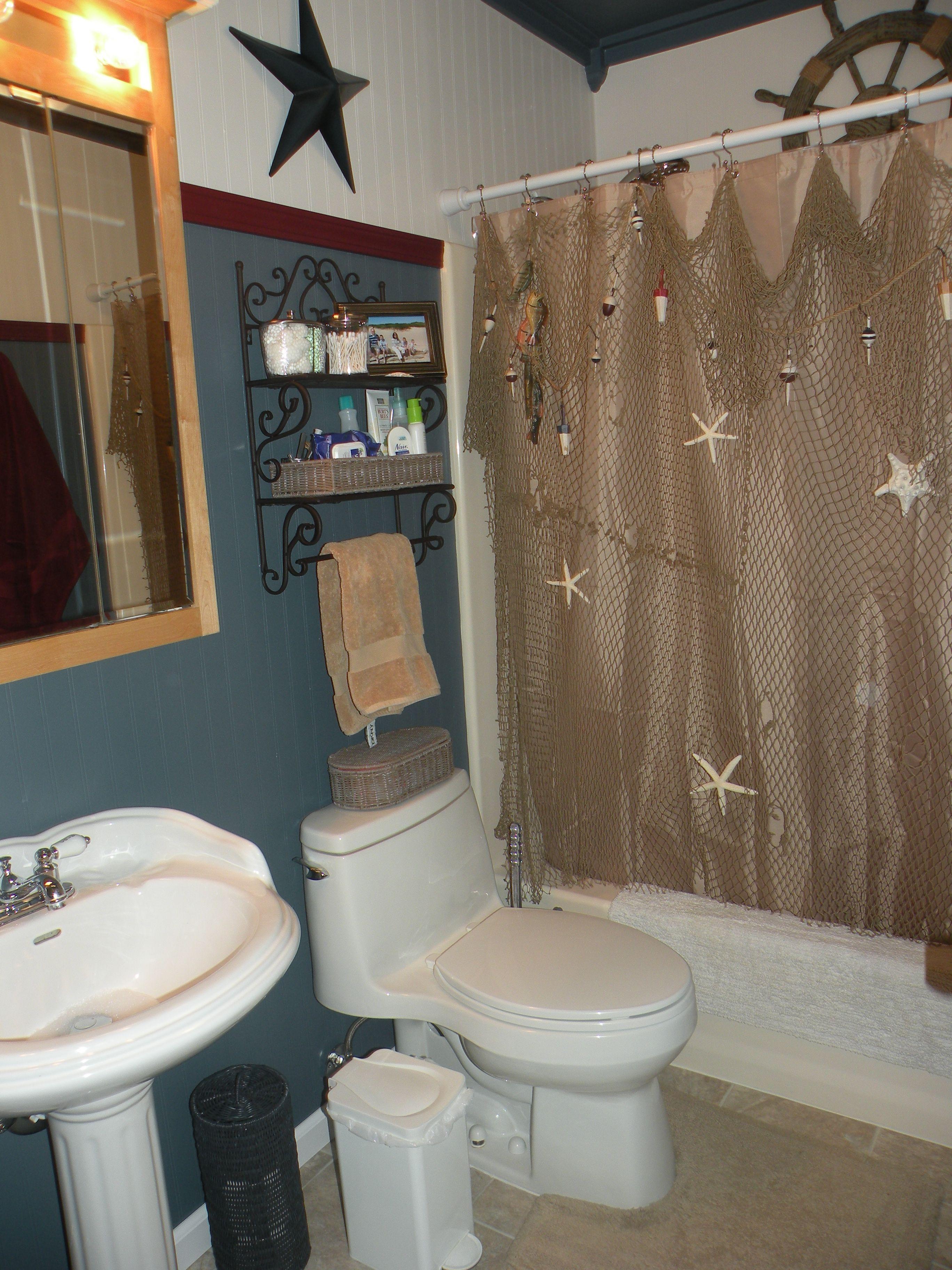 Nautical Bathroom Ideas For The Kids Bath With Images Bathroom