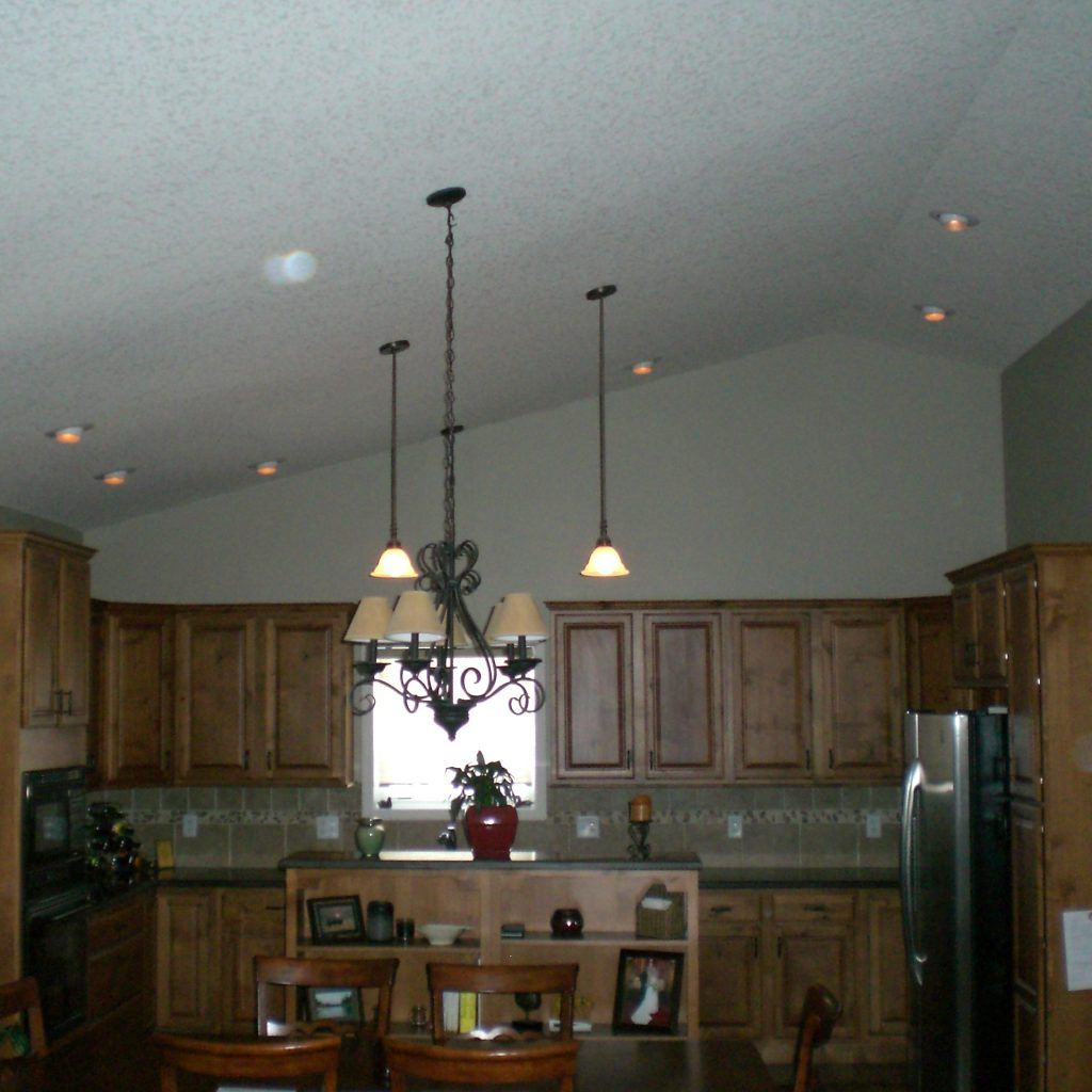 Kitchen Lighting Ideas For Vaulted Ceilings: How To Space Recessed Lights In Kitchen