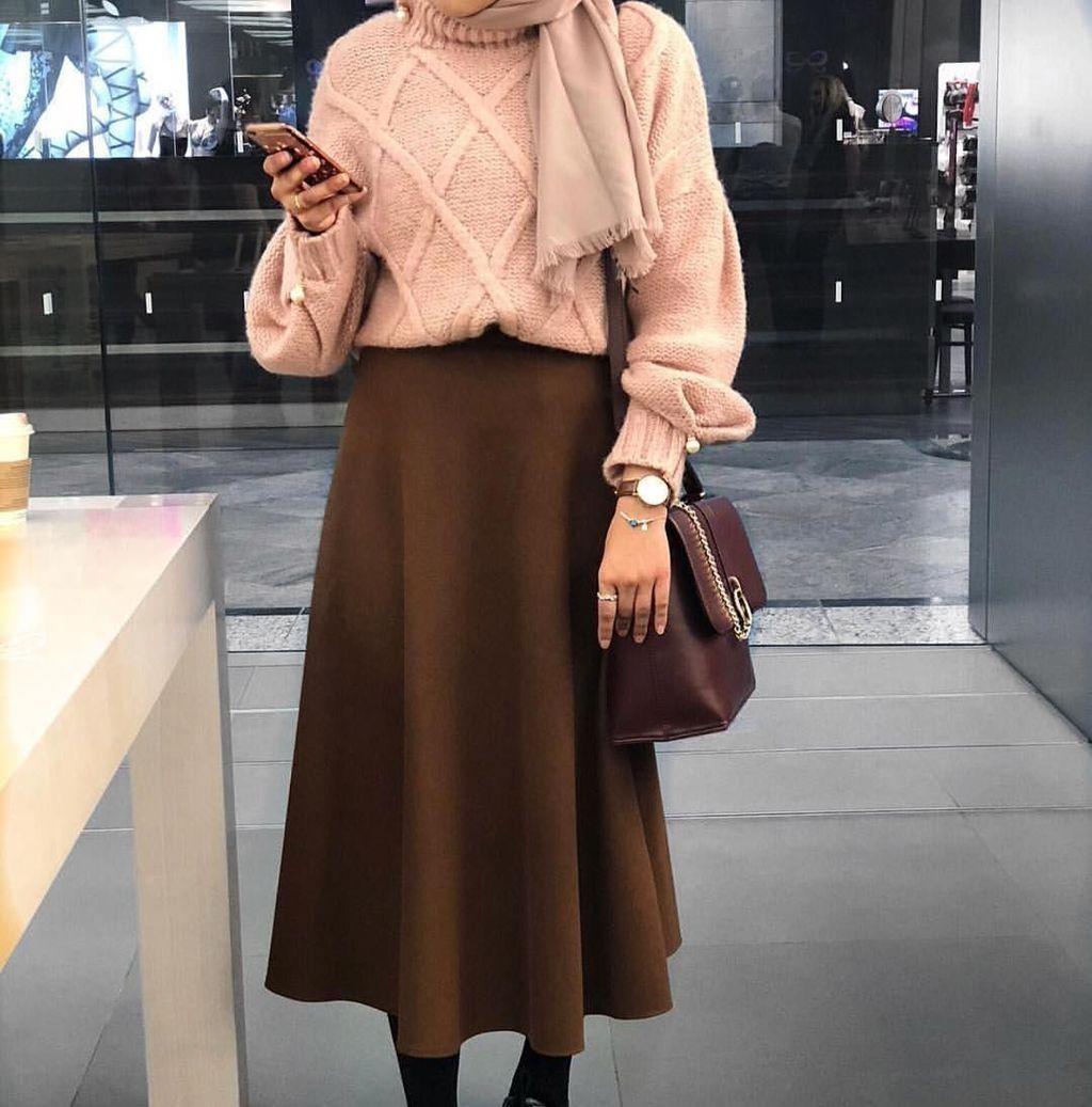 Cool 47 Combination Tricks Hijab Vintage For Women Hijab Fashion Hijabi Fashion Muslim Outfits