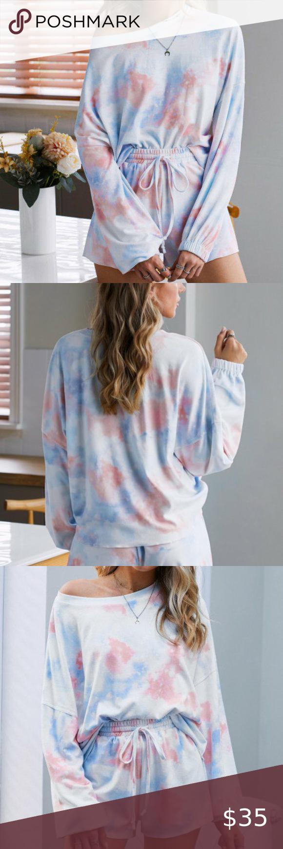 So Comfy Tie Dye Pullover Top So Comfy Tie Dye Pullover Top Us 8 10 M Reine Tops Tees Lo Blue Long Sleeve Tops Pink Long Sleeve Tops Long Sleeve Striped Top [ 1740 x 580 Pixel ]