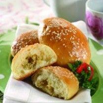 Roti Ayam Wijen Sajian Sedap Resep Aneka Roti Masakan