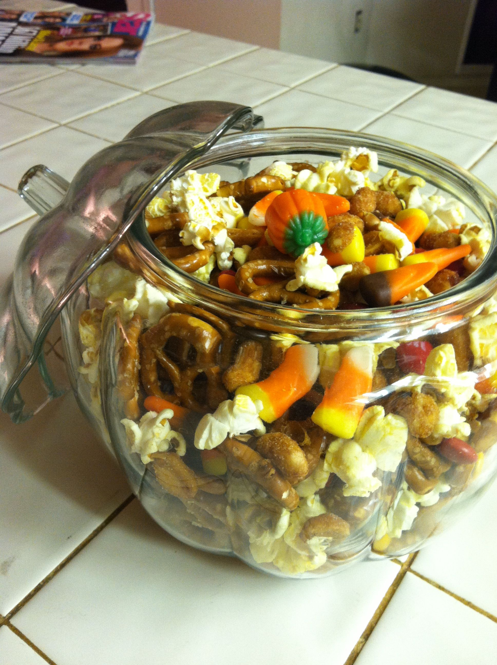 Fall Trail Mix Cant Stop Eating It Candy Corn M Amp Ms