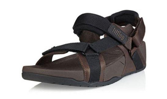 a935548c7 Mens Sandals Fitflop Hyker Black Shoes   Cheap Fitflop Shoes UK Sale ...
