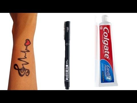Photo of How To Make Tattoo At Home with pen | diy Tattoo with pen