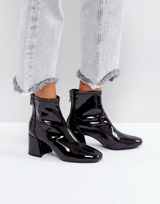 9d2f7e233e8a Discover Fashion Online Black Heel Boots