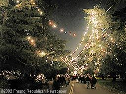 Christmas Tree Lane San Joaquin Valley California History Yosemite Sequoia