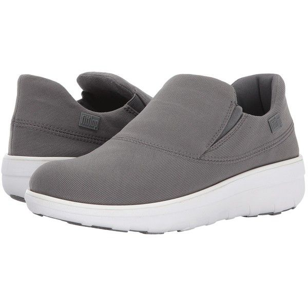 b4ab10bf2c7e13 FitFlop Loaff Sporty Slip-On Sneaker (Charcoal) Women s Shoes ( 110 ...