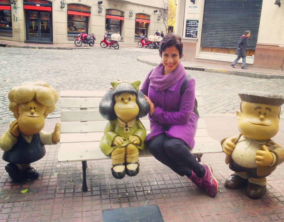 Mafalda Y Sus Amigos San Telmo Buenos Aires Argentina