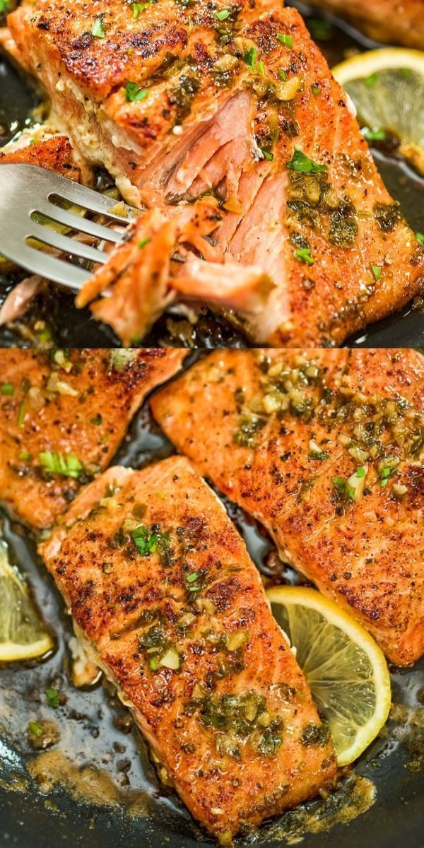 This Cajun Salmon recipe is an ultra-easy and flavorful dinner to make during your busy weeknights. It's ready in less than 30 minutes. FOLLOW Cooktoria for more deliciousness! #salmon #fish #seafood #dinner #lunch #lowcarb #keto #ketodinner #yummy #recipeoftheday