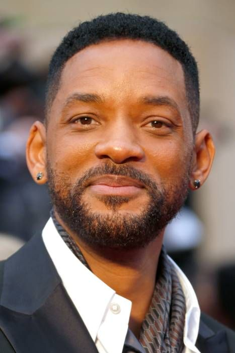 will smith wears david yurman barbed wire single stud black