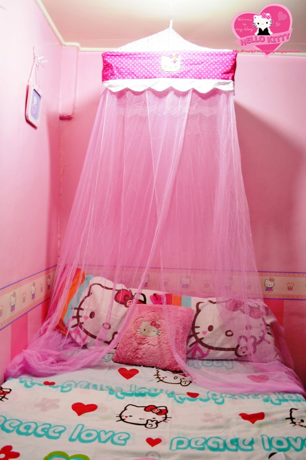 Etonnant Hello Kitty Bedroom Set Qmqpn