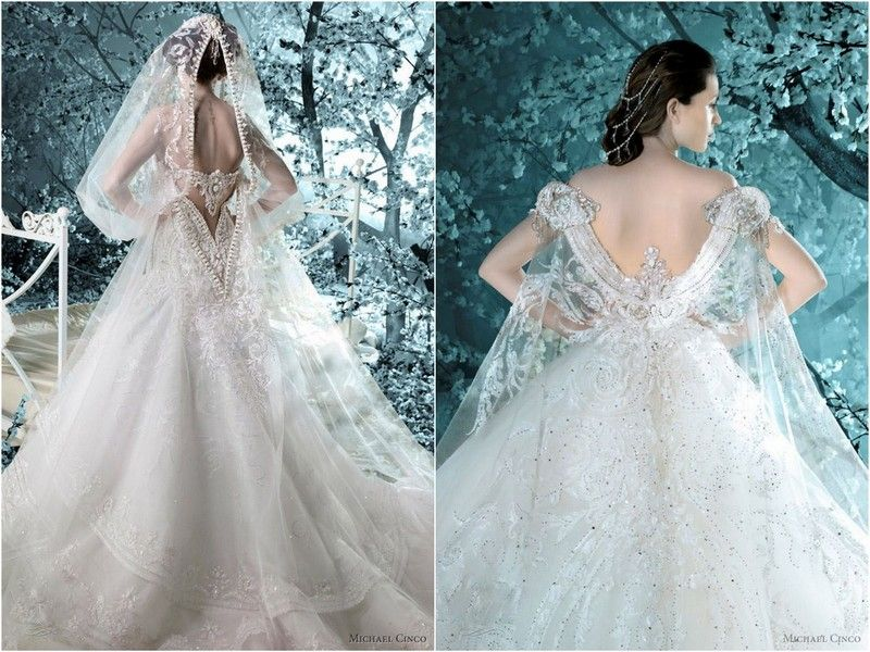 Blogged on www.everythingweddingsandmore.net It's all in the Details: Wedding Dresses by Michael Cinco