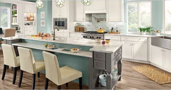 Maple Kitchen, Remodeling Ideas, Lake Houses, Kitchen Remodel, Kitchen Ideas,  Cabinet, House Ideas, Table Height, Counter