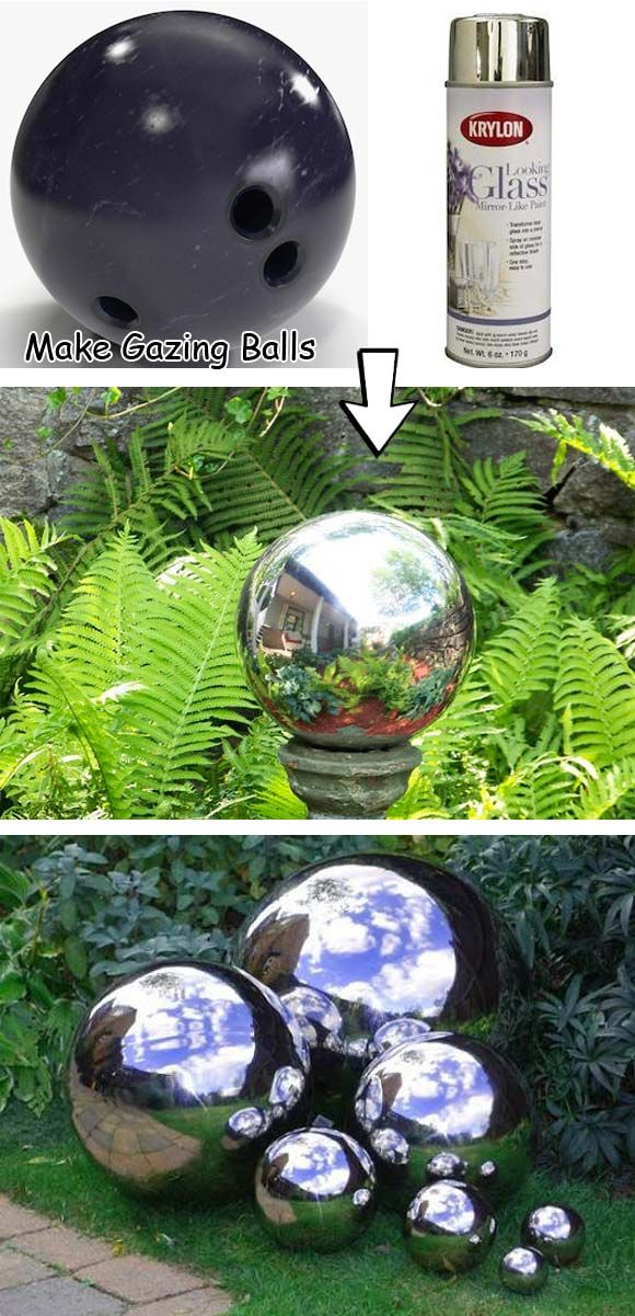 Cool Diy Garden Globes Make Your Garden More Interesting Globe Jardin Decoration Jardin Bricolage Jardin