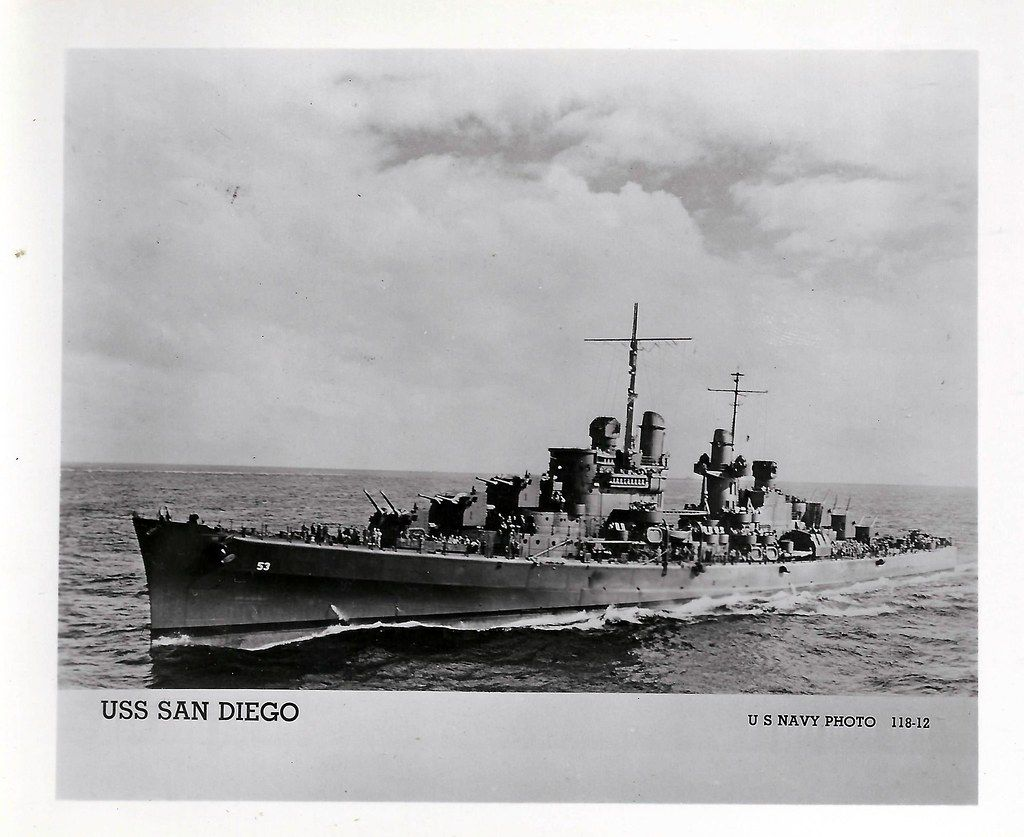 uss san diego cl 53 light cruiser wwii by photolibrarian from wikipedia the free encyclopedia history name san diego namesak uss san diego san diego diego pinterest