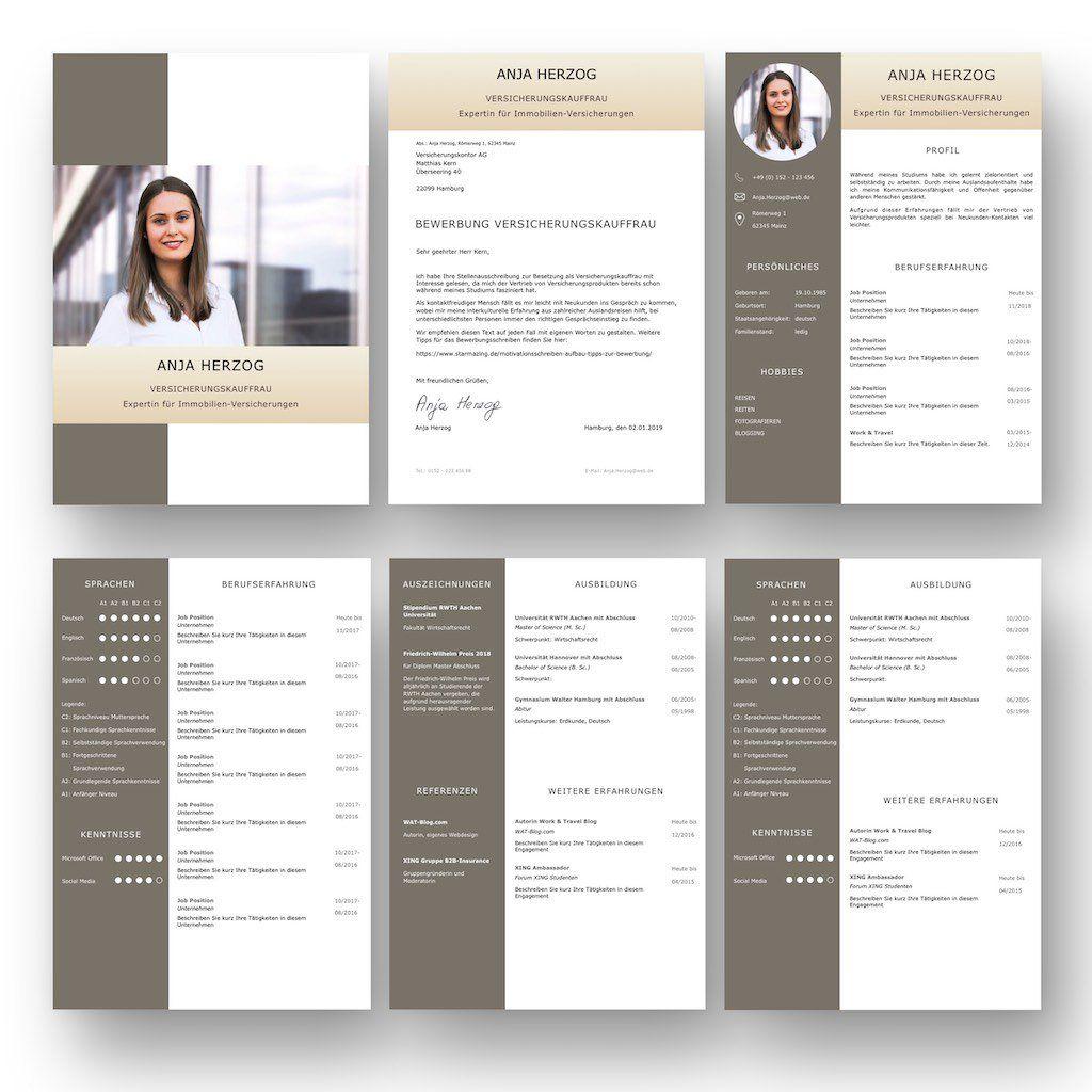 Cv Lebenslaufvorlage Fur Viel Berufserfahrung Highlights 6 Seiten Unterstutzt Europaischen Referenzrahmen Fur Spr Berufserfahrung Bewerbung Cv Lebenslauf