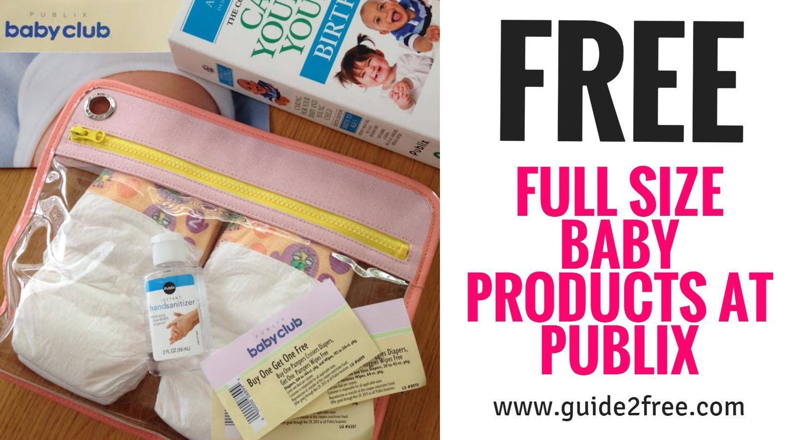 Publix Baby Club  FREE Full size Products  Limited States  Health